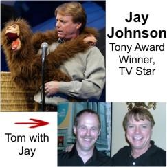 Ventriloquist Jay Johnson