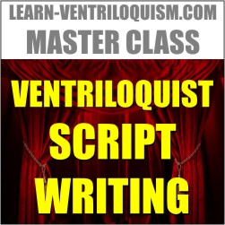 ventriloquist script writing