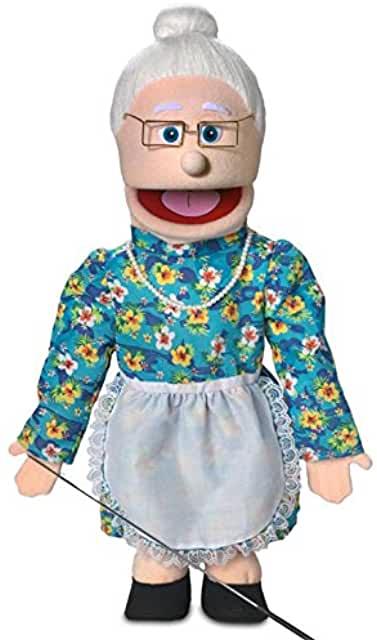 Granny Ventriloquist Puppet
