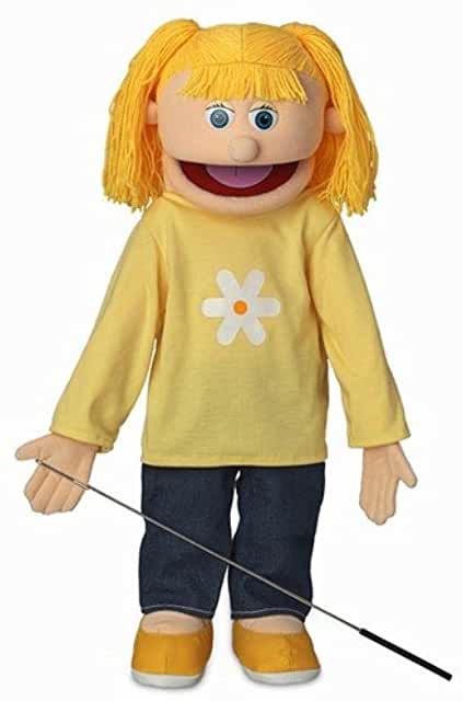 """25"""" Katie Ventriloquist Puppet"""