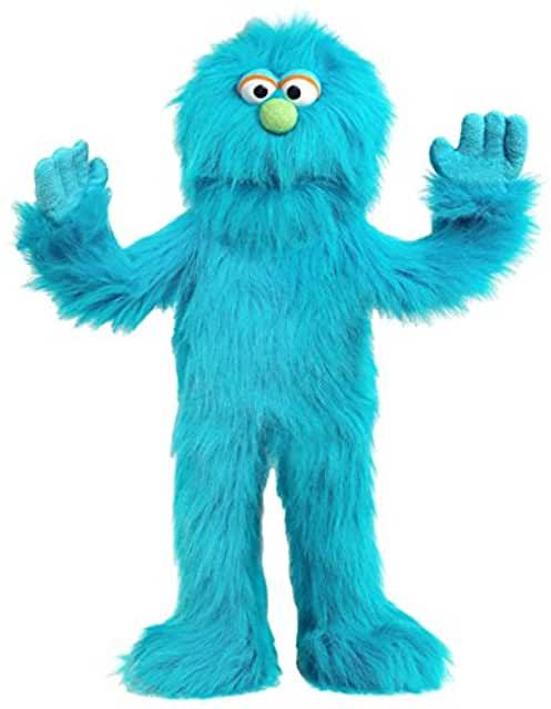 Blue Monster Ventriloquist Puppet