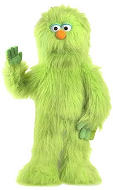 Green Monster Puppet